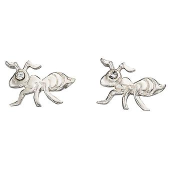 925 Silver Earring Ant
