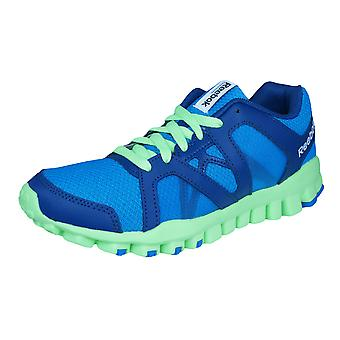 Reebok Realflex Train RS 2.0 Kids Running Trainers / Shoes - Blue