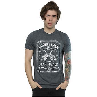 Johnny Cash mænd mand i sort etiket T-Shirt