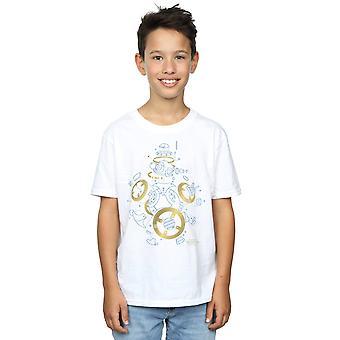 Star Wars Boys The Last Jedi BB-8 Deconstructed T-Shirt