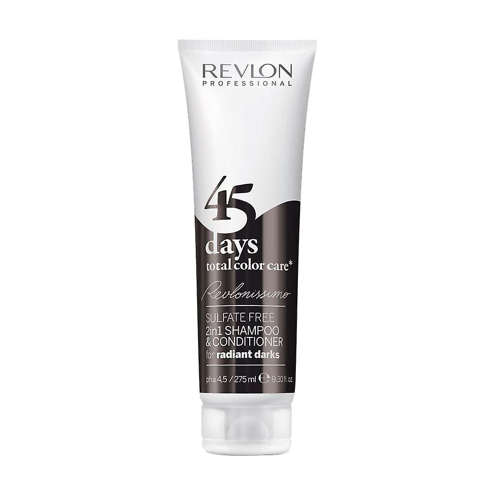 Revlon Revlonissimo 45 Days Shampoo Conditioner Radiant Darks 275ml