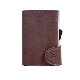 Woodland Leathers Burgundy Leather Wallet and C-Secure Cardprotector
