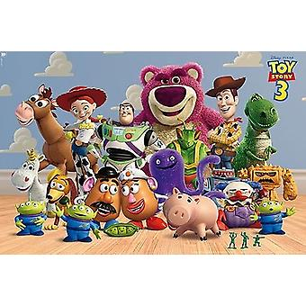 Toy Story 3 - Group Poster Poster Print