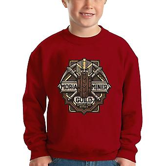 Lord Of The Rings Moria Miner Guild Kid's Sweatshirt