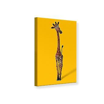 Canvas Print Sweety giraffen