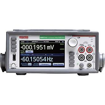 Bench multimeter Digital Keithley DMM7510 Calibrated to: Manufacturer's standards (no certificate) CAT II 300 V Display
