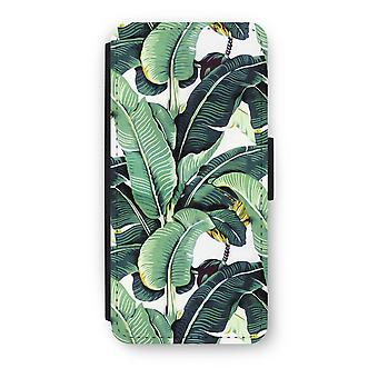 iPhone 5C Flip Case - Banana leaves