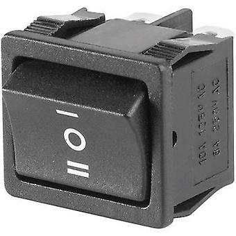 Toggle switch 250 V AC 6 A 2 x On/Off/On SCI R13-3