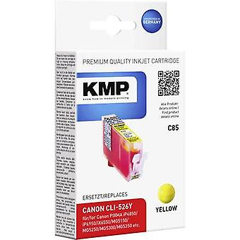 KMP Ink replaced Canon CLI-526 Compatible Yellow