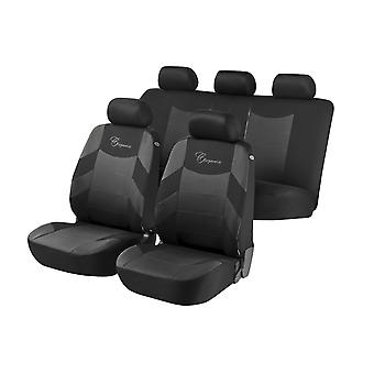 Elegance Car Seat Cover For Grey &, Black For Ford MONDEO Estate 2007-2014