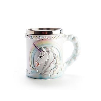 Taza de unicornio volador