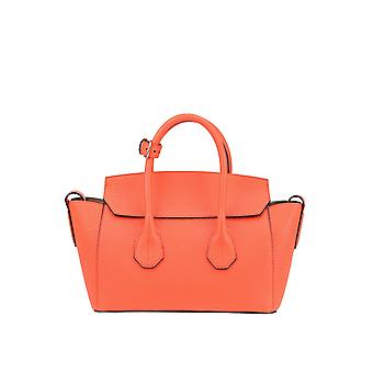 Bally women's MCGLBRE03065E red leather tote