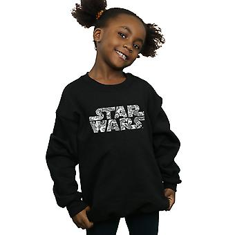 Star Wars Girls ornamentalen Logo Sweatshirt