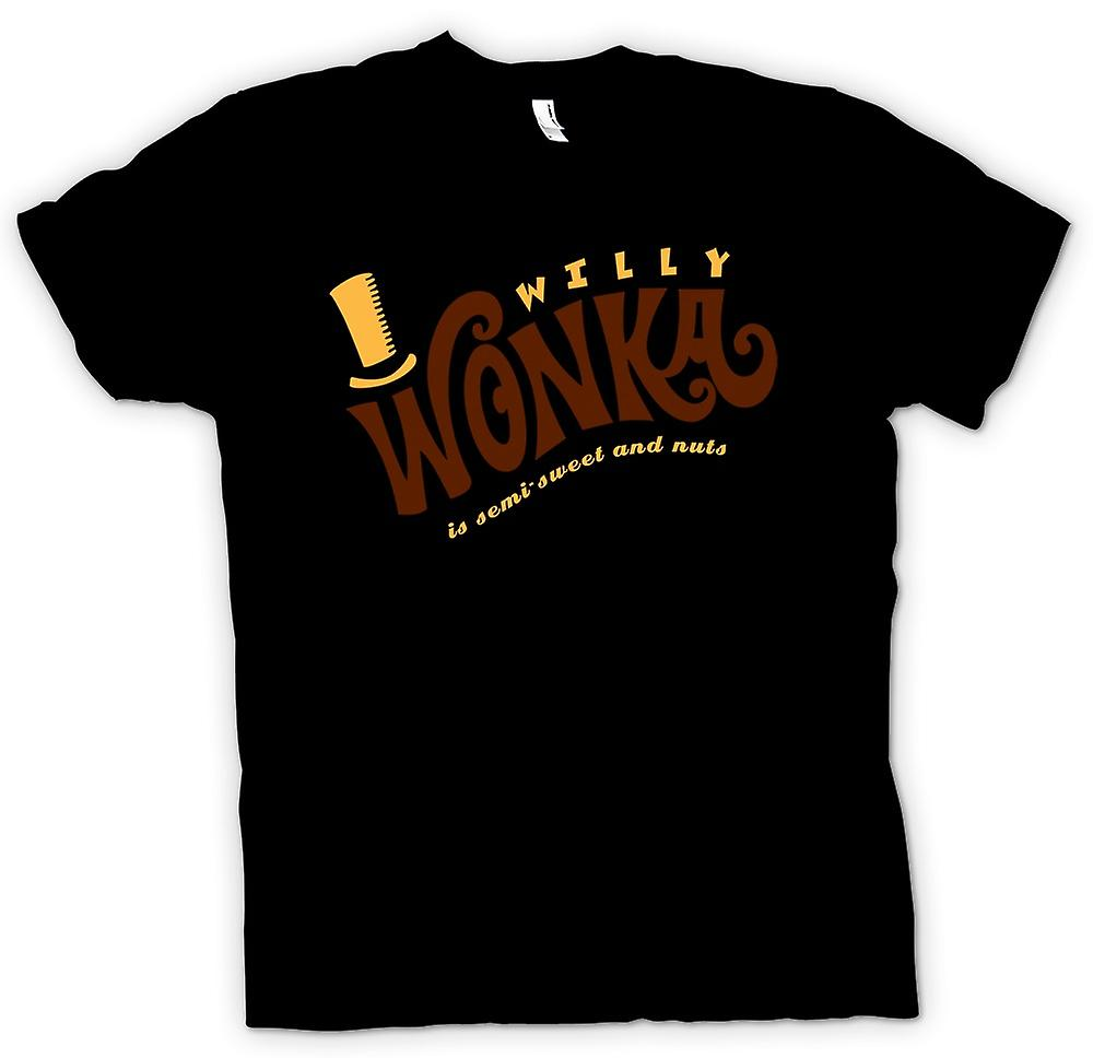 Kids T-shirt - Willy Wonka And Chocolate Factory - BW