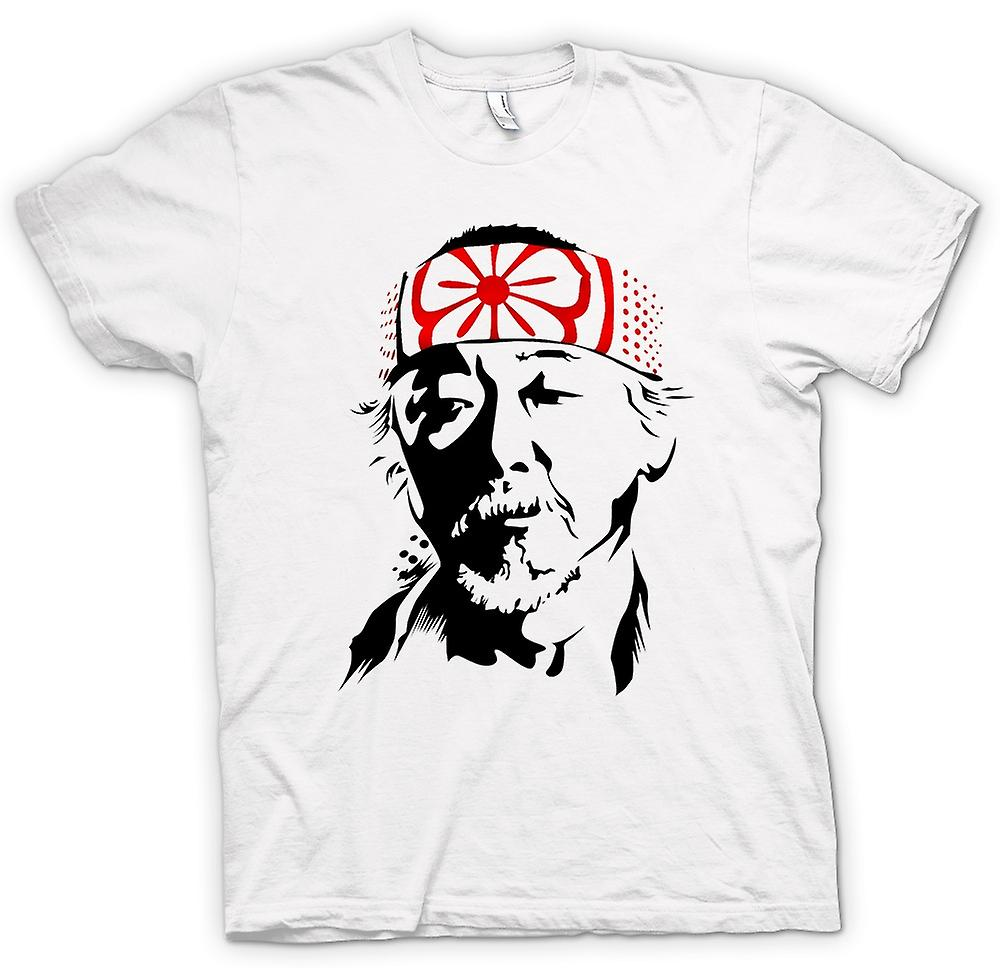 Womens T-shirt - Karate Kid Mr Miyagi - Portrait