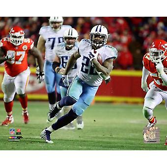 Derrick Henry Touchdown 2017 AFC Wildcard Game Photo Print