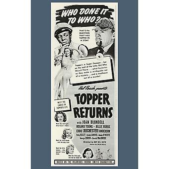Topper Returns Movie Poster (11 x 17)