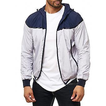 Men's transfer jacket windbreaker mesh network easy hooded jacket Blouson