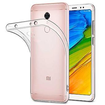 Silikoncase Transparent 0,3 mm Ultradünn Hülle für Xiaomi Redmi 5 Plus Tasche Case