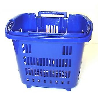 Blue Rolling Shopping, Laundry Basket