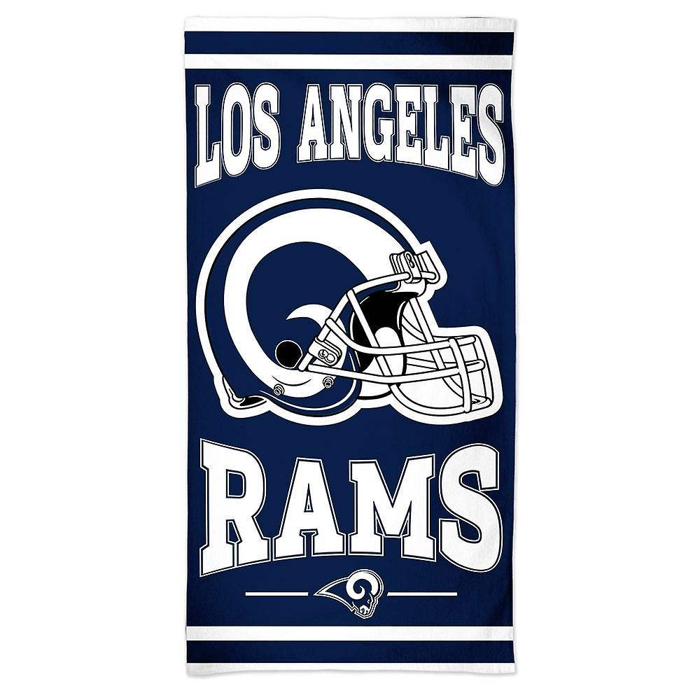 Wincraft da NFL Los Angeles Rams praia toalha 150x75cm