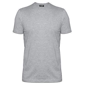 DSQUARED2 Unterwäsche DSQUARED grau Rundhals T-Shirt