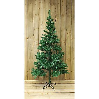 الرفراف احتفالية 6 أقدام الصنوبر شجرة عيد الميلاد باللون الأخضر