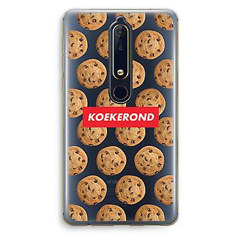 Nokia 6 (2018) Transparent Case (Soft) - Koekerond