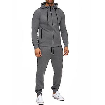 L.A.B 1928 men's tracksuit sport suit anthracite