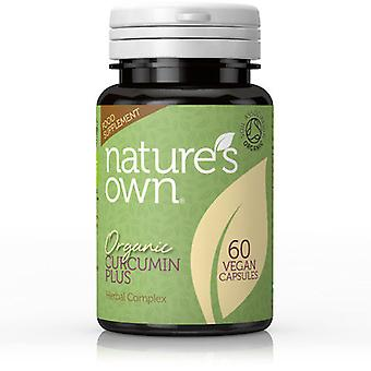 Natures Own Organic Curcumin Plus Herbal Complex, 60 Capsules