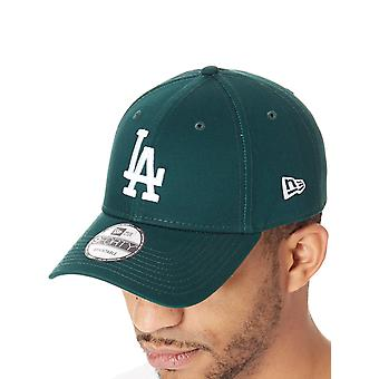 New Era Dark Green-Optic White League Essential 9Forty Los Angeles Curved Peak S