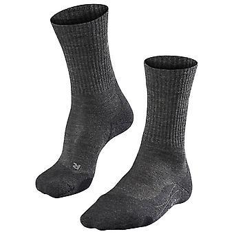 Falke Trekking calcetines de lana mediana 2 - Smog gris