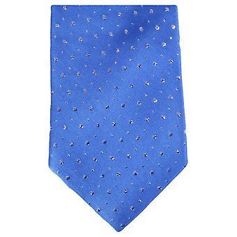 Knightsbridge Neckwear Glitter Tie - Blue