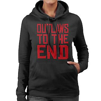Outlaws To The End Red Dead Redemption Women's Hooded Sweatshirt