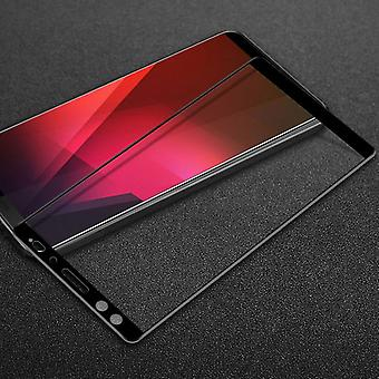For HTC U12 life 1 x 3D premium 0.3 mm H9 black glass slide protection cover new