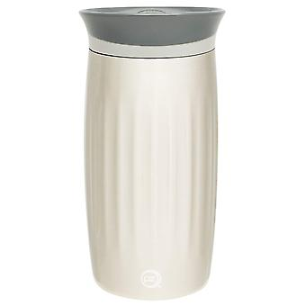 12oz Vacuum Insulated Travel Tumbler Thermal Fluted Mug Cup Stainless Steel