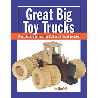 Grand gros jouet camions - Plans et Instructions pour le renforcement des Veh géant 9