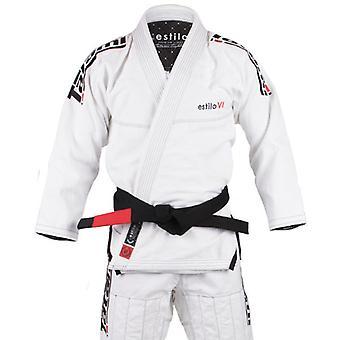 Tatami Fightwear Estilo 6.0 Mens BJJ Gi White/Black