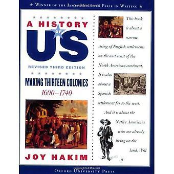 Making Thirteen Colonies (History of US)