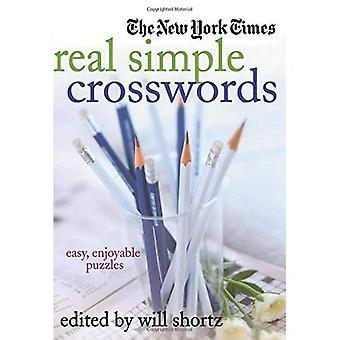 New York Times Real Simple ristisanatehtäviä: Helppoa ja hauskaa palapelit