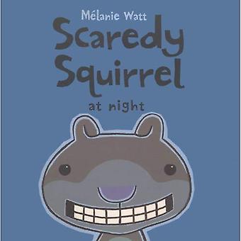 Scaredy Eichhörnchen in der Nacht