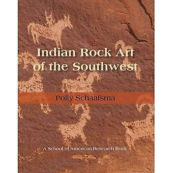 Arte indio de la roca del sudoeste