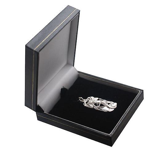 Silber 33x17mm Fische Sternzeichen-Anhänger