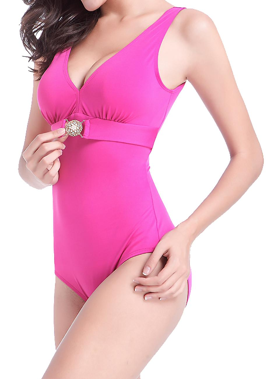 Waooh - 1 Piece Swimsuit with Rhinestones Jenya