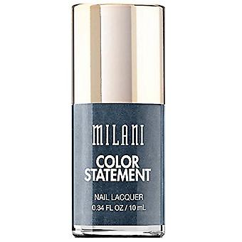 Milani Color Statement Nail Lacquer-35 Charcoal Charm