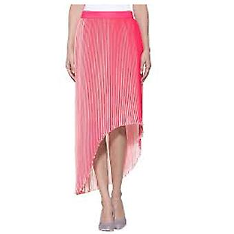 Alba Moda of beautiful women's pleated skirt with a Jersey pink