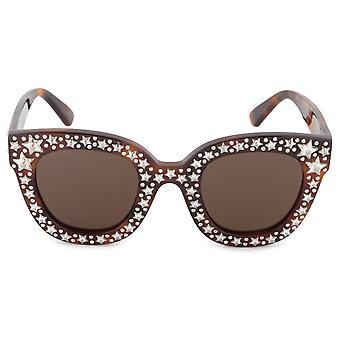 Gucci GG0116S 003 49 Oversized Sunglasses