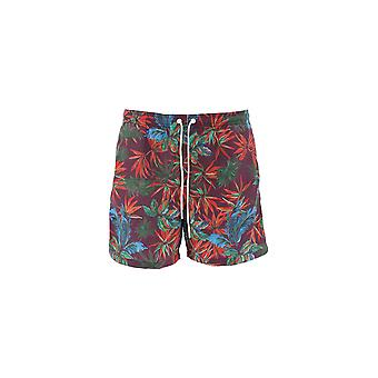Paolo Pecora Multicolor Polyester Trunks