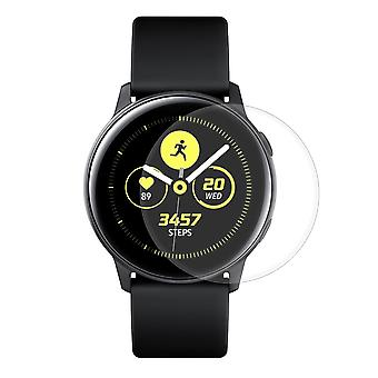 Samsung Galaxy Watch Active Panzer Schutz Display Glas Panzerfolie 9H Echtglas - 2 Stück