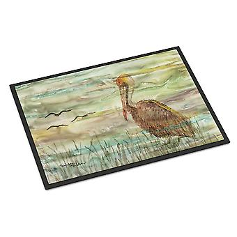 Carolines Treasures  SC2011MAT Brown Pelican Sunset Indoor or Outdoor Mat 18x27
